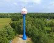 Hatley water tower